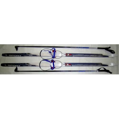 Лыжный комплект STC с кабельным креплением